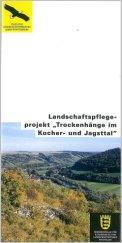 """Bild der Titelseite der Publikation: Landschaftspflegeprojekt """"Trockenhänge im Kocher- und Jagsttal"""""""