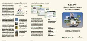 Bild der Titelseite der Publikation: UIS-Faltblatt 2011