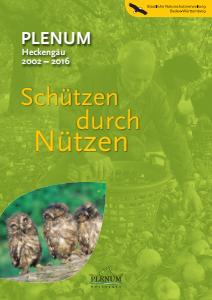 Bild der Titelseite der Publikation: PLENUM Heckengäu 2002 - 2016