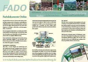 Bild der Titelseite der Publikation: Flyer FADO 2009