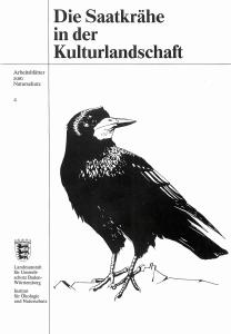 Bild der Titelseite der Publikation: Die Saatkrähe in der Kulturlandschaft