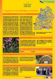 Bild der Titelseite der Publikation: 15 Energie und Landschaftspflege