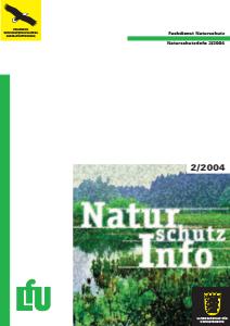 Bild der Titelseite der Publikation: Naturschutz-Info 2004 Heft 2