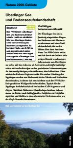 Bild der Titelseite der Publikation: Natura 2000 gemeinsam umsetzen - Überlinger See und Bodenseeuferlandschaft