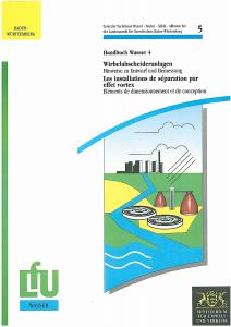 Bild der Titelseite der Publikation: Wirbelabscheideranlagen