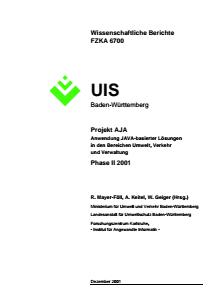 Bild der Titelseite der Publikation: AJA Phase II - 2001