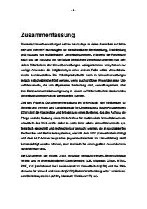 Bild der Titelseite der Publikation: DIWA 1999 - Dokumentenverwaltung in Web-Archiven der Umweltdienststellen Baden-Württemberg