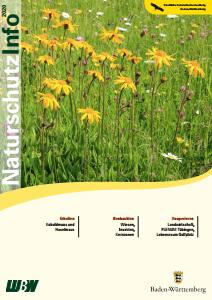 Bild der Titelseite der Publikation: Naturschutz-Info 2020 Heft 1 - 2