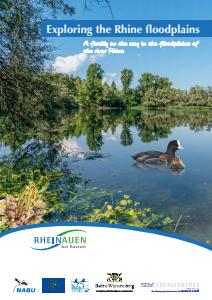 Bild der Titelseite der Publikation: Exploring the Rhine floodplains