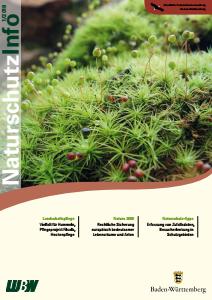 Bild der Titelseite der Publikation: Naturschutz-Info 2018 Heft 1