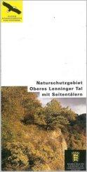 Bild der Titelseite der Publikation: Naturschutzgebiet Oberes Lenninger Tal mit Seitentälern