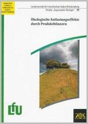 Bild der Titelseite der Publikation: Ökologische Entlastungseffekte durch Produktbilanzen