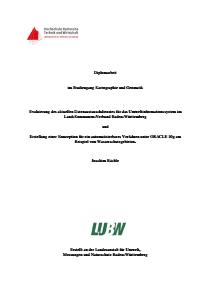 Bild der Titelseite der Publikation: Evaluierung des aktuellen Datenaustauschdienstes für das Umweltinformationssystem im Land-Kommunen-Verbund Baden-Württemberg