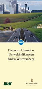Bild der Titelseite der Publikation: Daten zur Umwelt - Umweltindikatoren Baden-Württemberg 2019