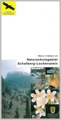 Bild der Titelseite der Publikation: Natur erleben im Naturschutzgebiet Schafberg-Lochenstein