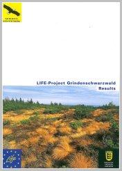 Bild der Titelseite der Publikation: LIFE-Project Grindenschwarzwald