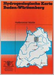 Bild der Titelseite der Publikation: Hydrogeologische Karte von Baden-Württemberg - Heilbronner Mulde