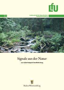 Bild der Titelseite der Publikation: Signale aus der Natur