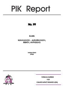 Bild der Titelseite der Publikation: Informationssystem KLARA 1.0