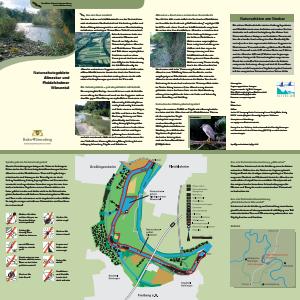 Bild der Titelseite der Publikation: Naturschutzgebiete Altneckar und Pleidelsheimer Wiesental