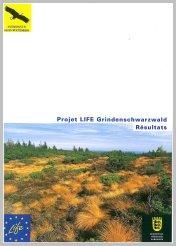 Bild der Titelseite der Publikation: Projet LIFE Grindenschwarzwald