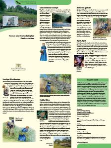 Bild der Titelseite der Publikation: Natur- und Kulturlehrpfad Kocherstetten