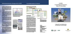 Bild der Titelseite der Publikation: UIS-Faltblatt 2006