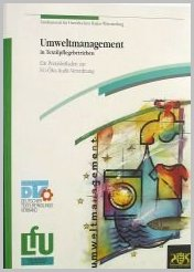 Bild der Titelseite der Publikation: Umweltmanagement in Textilpflegebetrieben