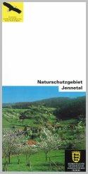 Bild der Titelseite der Publikation: Naturschutzgebiet Jennetal