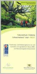 Bild der Titelseite der Publikation: Naturschutz Erlebnis Schauinsland Total - NEST