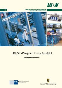 Bild der Titelseite der Publikation: BEST-Projekt Elma GmbH