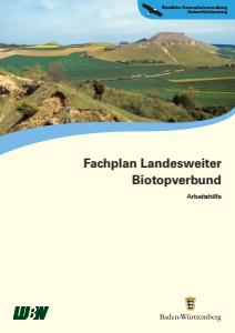 Bild der Titelseite der Publikation: Fachplan Landesweiter Biotopverbund. Arbeitshilfe