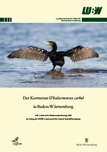 Bild der Titelseite der Publikation: Der Kormoran (Phalacrocorax carbo) in Baden-Württemberg