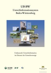 Bild der Titelseite der Publikation: Umweltinformationssystem Baden-Württemberg