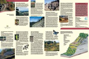 Bild der Titelseite der Publikation: Naturschutzgebiete im Taubertal
