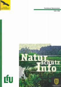 Bild der Titelseite der Publikation: Naturschutz-Info 1998 Heft 1