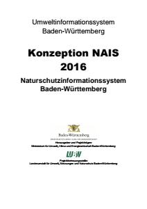 Bild der Titelseite der Publikation: Konzeption NAIS 2016