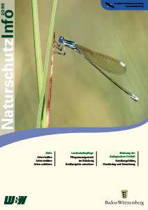Bild der Titelseite der Publikation: Naturschutz-Info 2018 Heft 2
