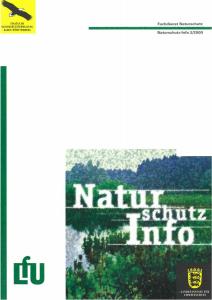 Bild der Titelseite der Publikation: Naturschutz-Info 2000 Heft 2