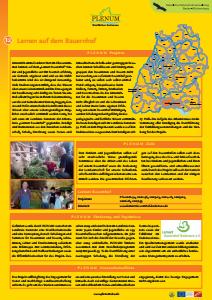 Bild der Titelseite der Publikation: 12 Lernort Bauernhof