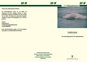 Bild der Titelseite der Publikation: Niederschlagsreihen für die Langzeitsimulation - NIEDSIM