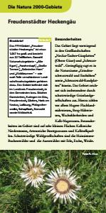 Bild der Titelseite der Publikation: Natura 2000 gemeinsam umsetzen - Freudenstädter Heckengäu