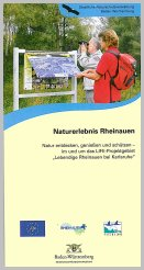 Bild der Titelseite der Publikation: Naturerlebnis Rheinauen