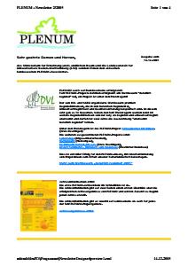 Bild der Titelseite der Publikation: Newsletter 2 / 2005