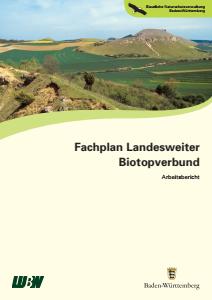 Bild der Titelseite der Publikation: Fachplan Landesweiter Biotopverbund. Arbeitsbericht