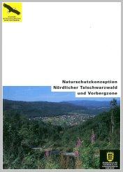 Bild der Titelseite der Publikation: Naturschutzkonzeption Nördlicher Talschwarzwald und Vorbergzone