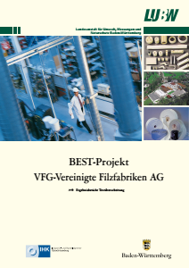 Bild der Titelseite der Publikation: BEST-Projekt VFG - Vereinigte Filzfabriken AG