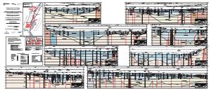 Bild der Titelseite der Publikation: MoNit: Hydrogeologischer Bau und hydraulische Eigenschaften - Karte