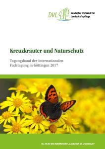 Bild der Titelseite der Publikation: Kreuzkräuter und Naturschutz