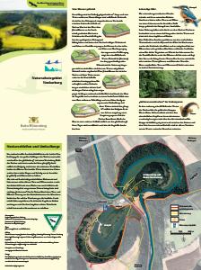Bild der Titelseite der Publikation: Naturschutzgebiet Neckarburg